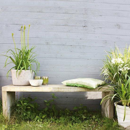DIY Παγκάκια για τον κήπο σας15