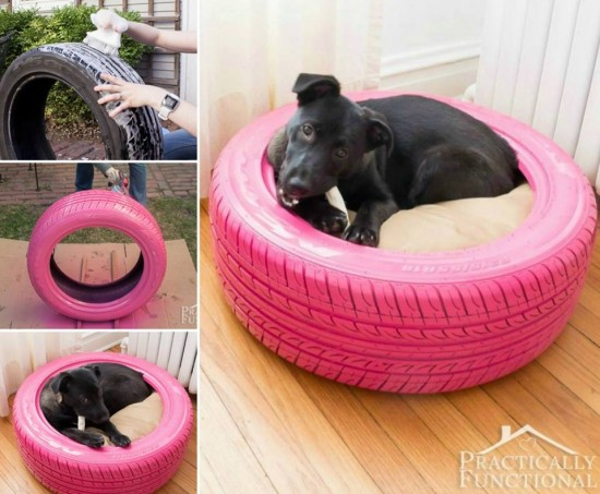 How-to-DIY-Recycled-Tire-Dog-Pet-Beds